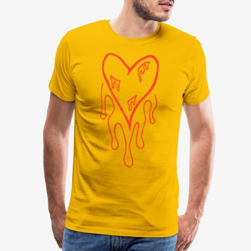 bleeding heart - Men's Premium T-Shirt