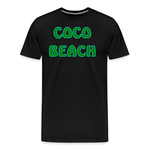 Coco beach - Men's Premium T-Shirt