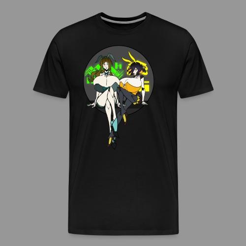 Leiur and Phara Tiddy Bunsuit - Men's Premium T-Shirt