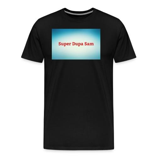 Super Dupa logo - Men's Premium T-Shirt
