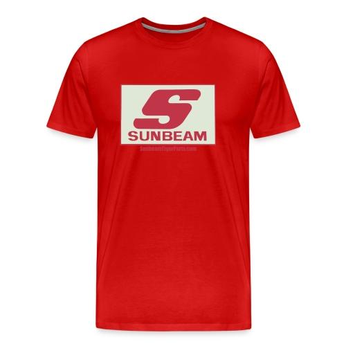 Sunbeam logo shirt with web free png - Men's Premium T-Shirt
