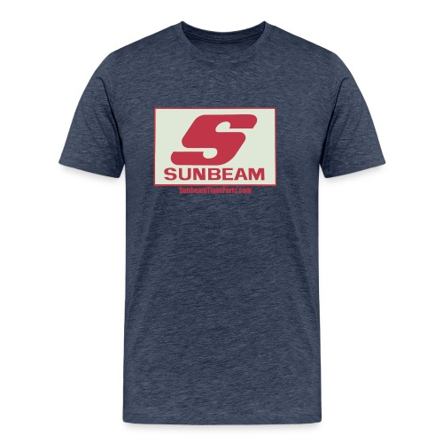 Sunbeam logo shirt with web free png - Men's Premium T-Shirt