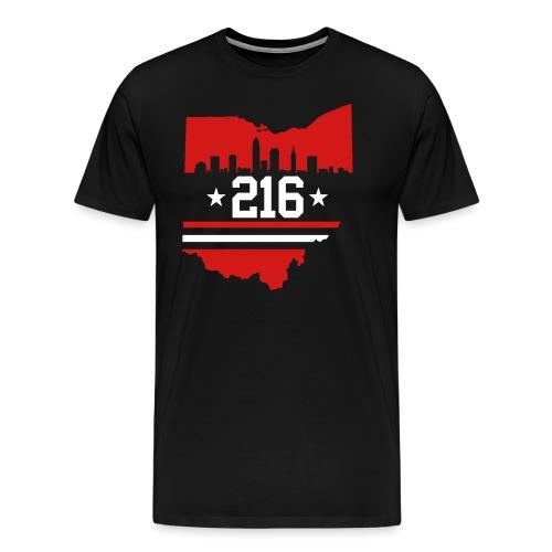 Cleveland 216 - Men's Premium T-Shirt