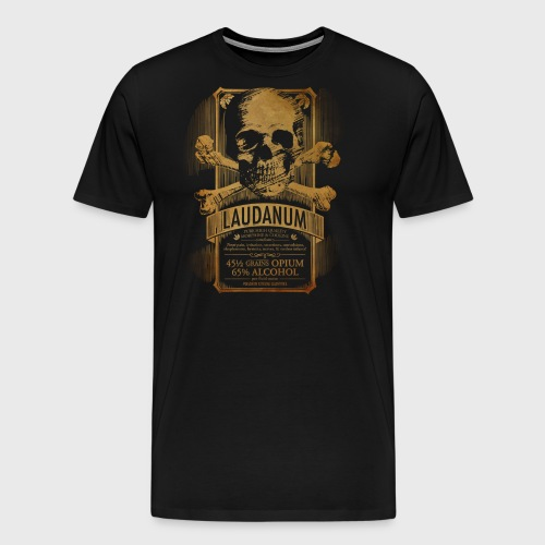 Laudanum Goth Steampunk Medical Doctor - Men's Premium T-Shirt
