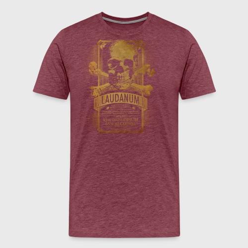 Laudanum Goth Steampunk Medical Doctor - Men's Premium T-Shirt