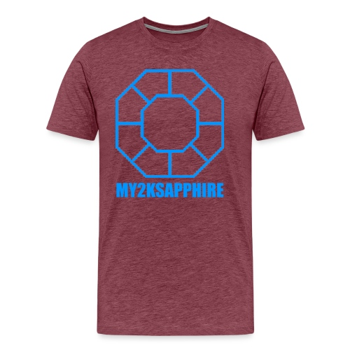 Unisex Blue Sapphire Hoodie - Men's Premium T-Shirt