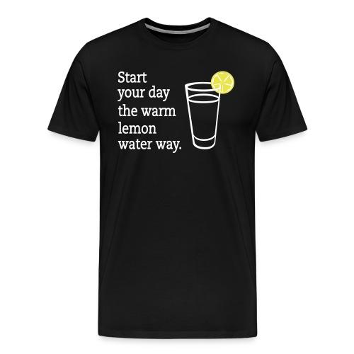 lemon waterdesign - Men's Premium T-Shirt