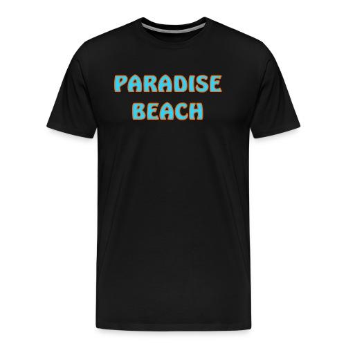 Paradise beach - Men's Premium T-Shirt