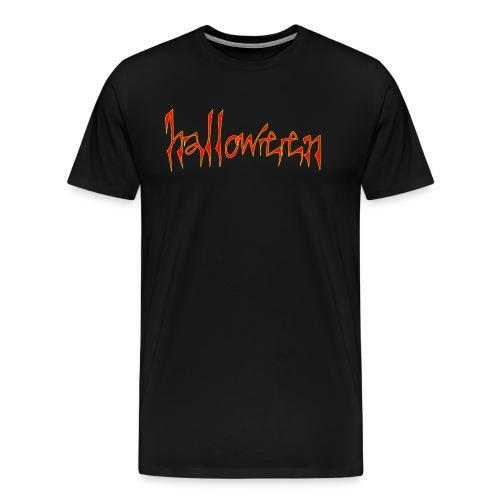 creepy halloween - Men's Premium T-Shirt