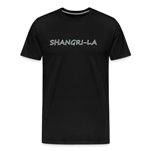Shangri La silver - Men's Premium T-Shirt
