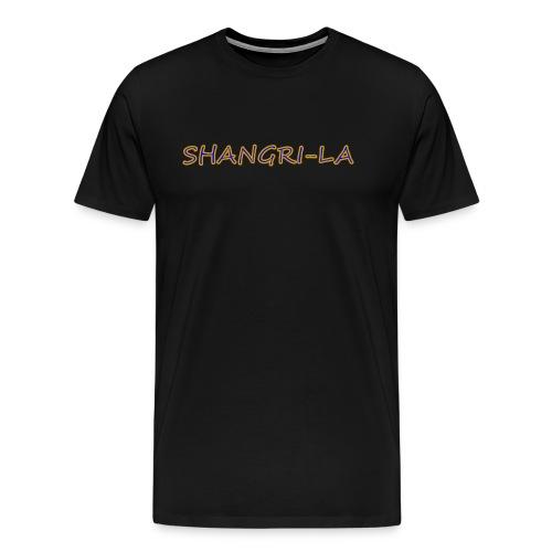 Shangri La gold blue - Men's Premium T-Shirt