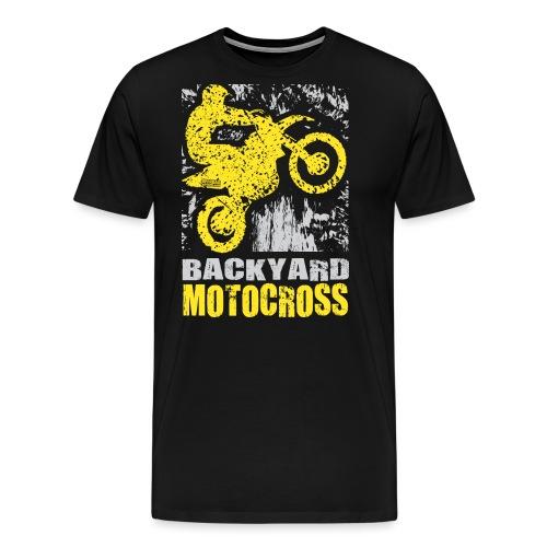 Backyard Motocross Suzuki - Men's Premium T-Shirt