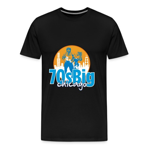 70sbigchicagonew - Men's Premium T-Shirt
