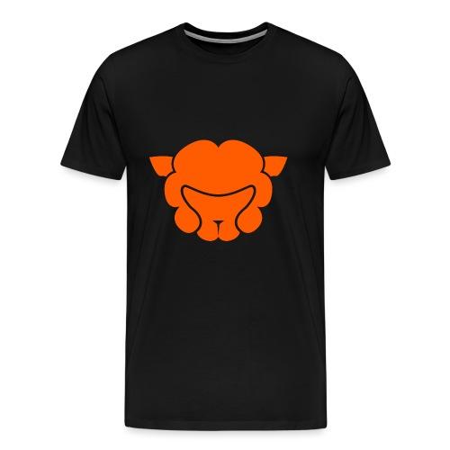 Alpaca Head - Men's Premium T-Shirt