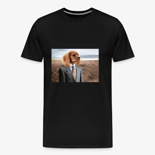 Funny Dog - Men's Premium T-Shirt
