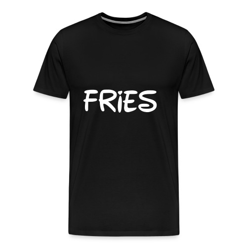fries with heart - Men's Premium T-Shirt