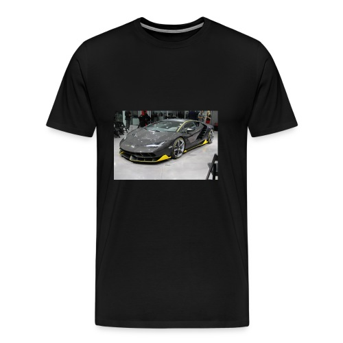 Lamborghini Centenario front three quarter e146585 - Men's Premium T-Shirt