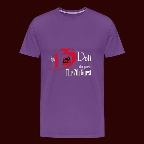 The 13th Doll Logo - Men's Premium T-Shirt