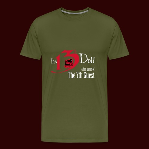 The 13th Doll Logo - Men's Premium T-Shirt