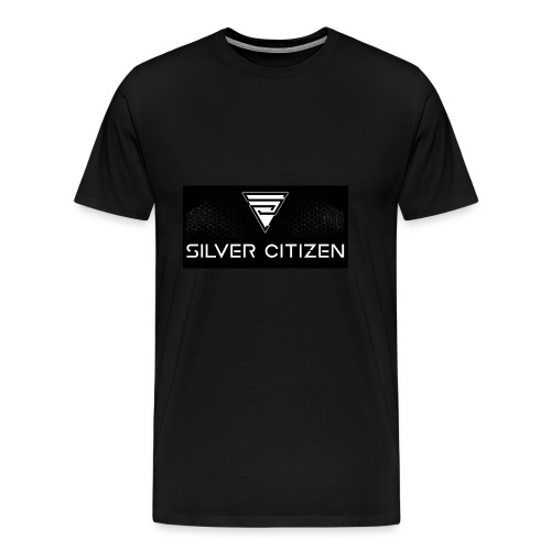 Silver Citizen Logo - Men's Premium T-Shirt