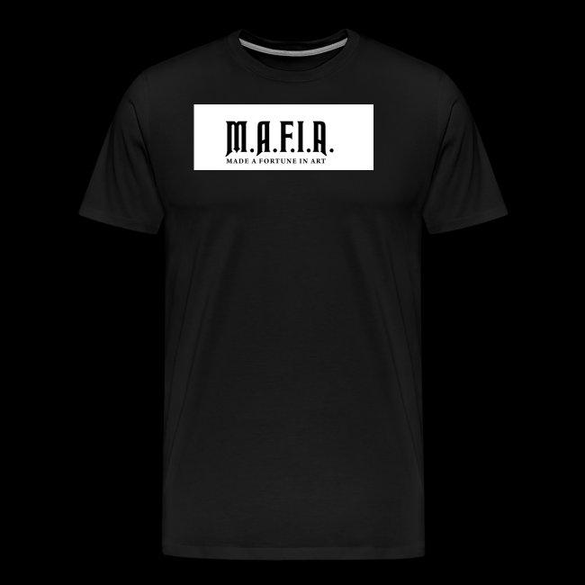 Classic Mafia Logo(White)