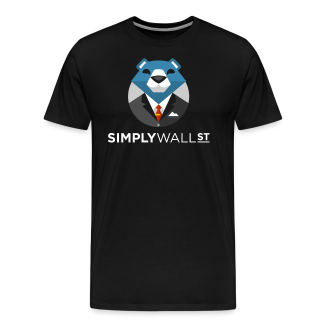Simply Wall St T-Shirt with Bear Logo