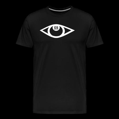 Syn Logo White - Men's Premium T-Shirt