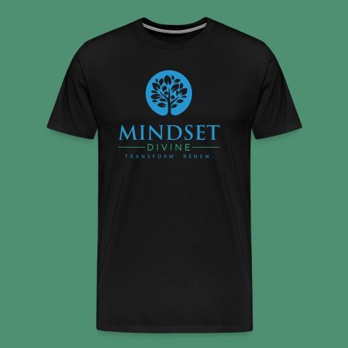 Mindset Divine logo 01 - Men's Premium T-Shirt