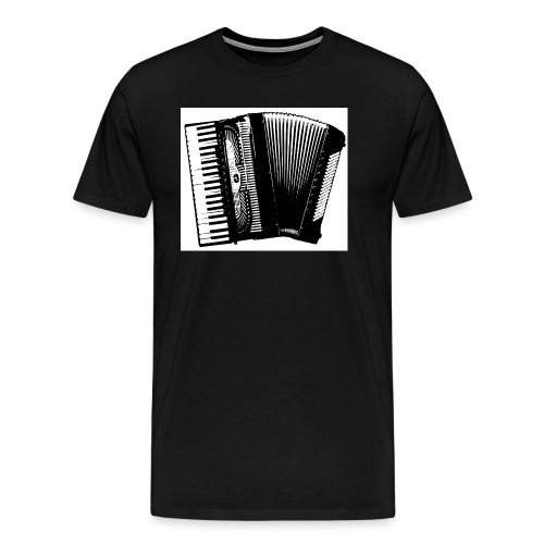 Accordian - Men's Premium T-Shirt
