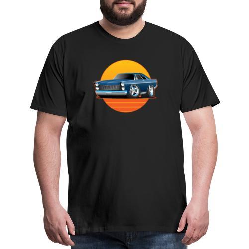 Classic Sixtes Big American Muscle Car - Men's Premium T-Shirt