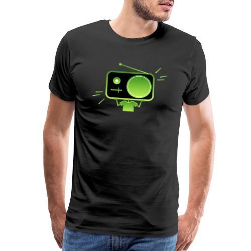 MusiqHead Green Ver 3 - Men's Premium T-Shirt