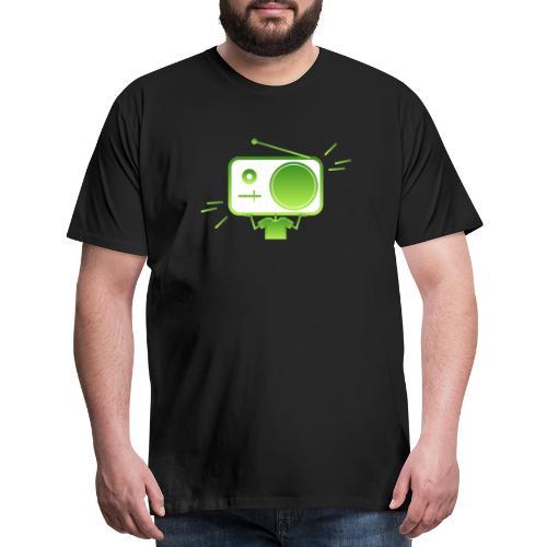 MusiqHead Green Ver 4 - Men's Premium T-Shirt
