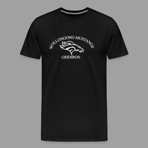 OG Mustang White - Men's Premium T-Shirt