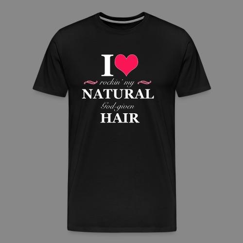 Love Rockin Natural Hair - Men's Premium T-Shirt