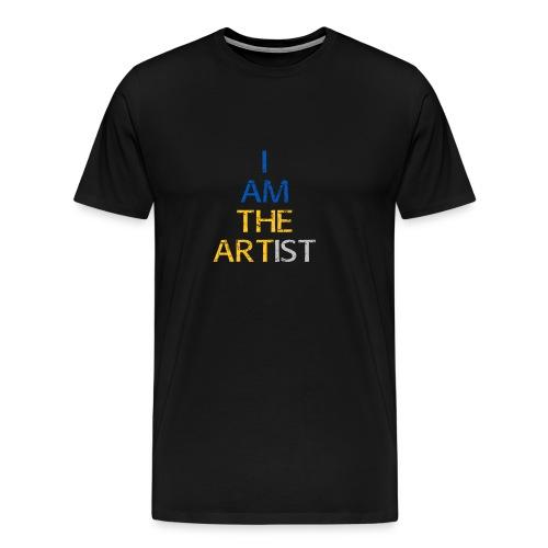 I Am The Artist -Text Only - Men's Premium T-Shirt