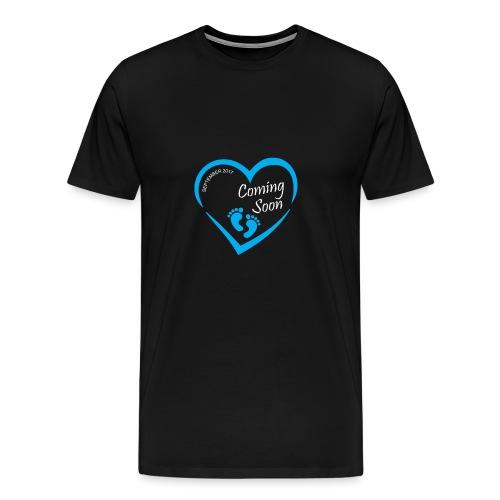 Baby coming soon - Men's Premium T-Shirt