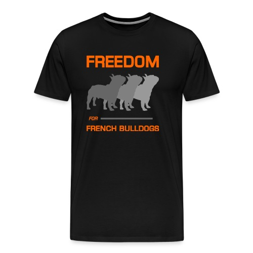 French Bulldogs - Men's Premium T-Shirt