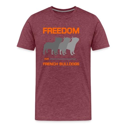 French Bulldogs - Men's Premium T-Shirt