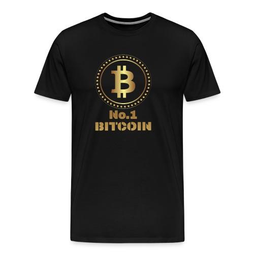 Bitcoin Shirt Present I Krypto Money Corrupt Money - Men's Premium T-Shirt