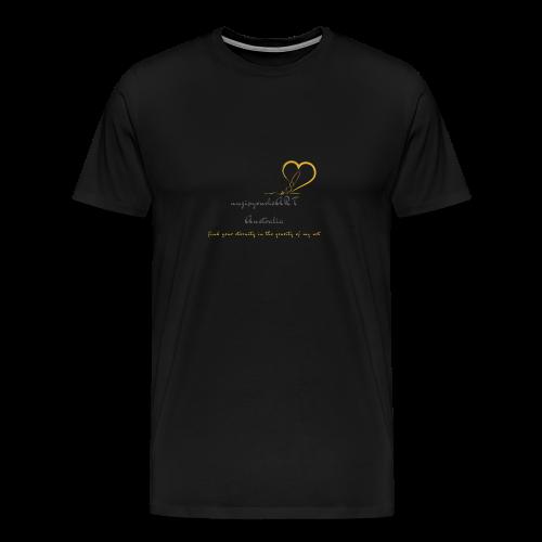 unzipyourheART - Men's Premium T-Shirt