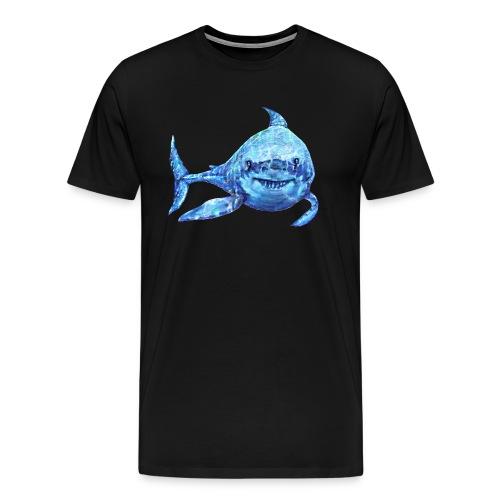 sharp shark - Men's Premium T-Shirt