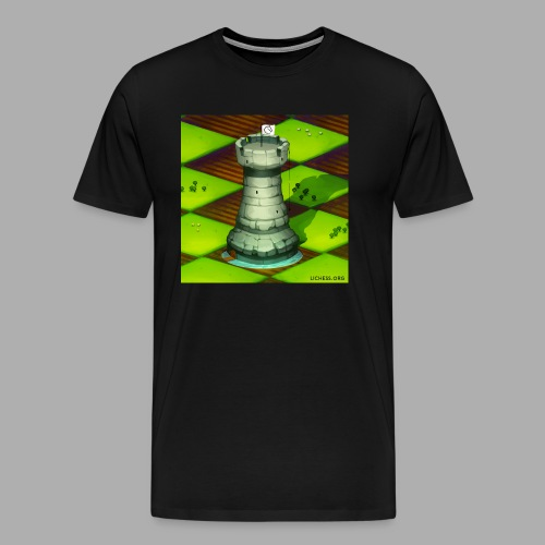 Lichess Castle - Men's Premium T-Shirt