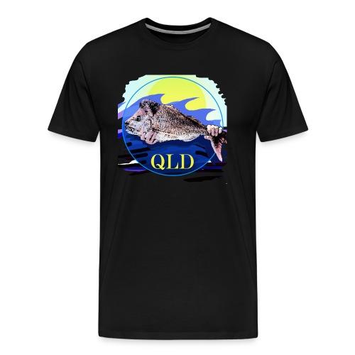 SNAPPER FISHING OFFSHORE AND INSHORE QLD - Men's Premium T-Shirt