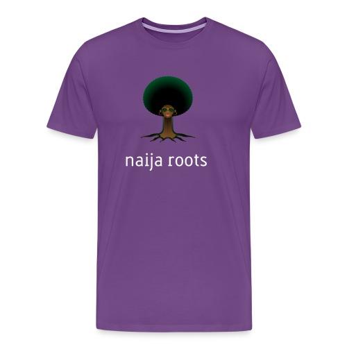 naijaroots - Men's Premium T-Shirt
