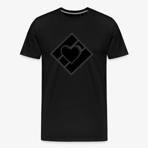 JDC w/ BLK Luv - Men's Premium T-Shirt