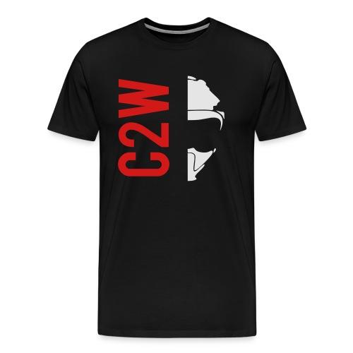 ChaseOnTwoWheels Split Logo - Men's Premium T-Shirt