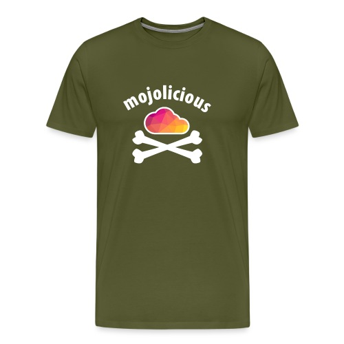 New Pirate Cloud in Color - Men's Premium T-Shirt
