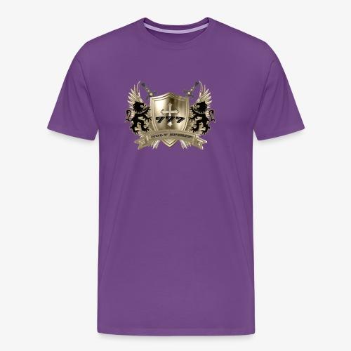 HOLY SPIRIT GOLD SHIELD - Men's Premium T-Shirt