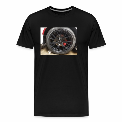 I have the wheel show me the way - Men's Premium T-Shirt