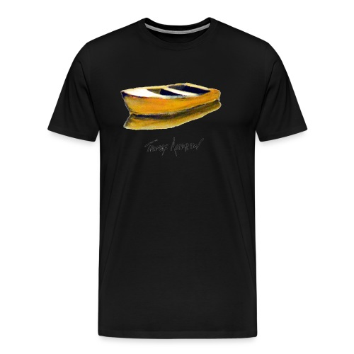Yellow Boat Tshirt design5 - Men's Premium T-Shirt